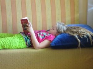 Ich lese heut alleine.